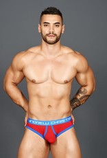 Andrew Christian Almost Naked Retro Thong - Red