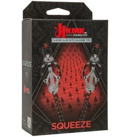 Doc Johnson's Kink Squeeze - Clover Clips With Silicone Tips