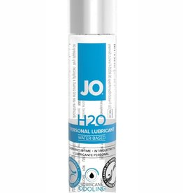System Jo Jo H2O Water Based Personal Lubricant Cooling 1 Ounce