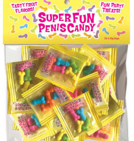 Little Genie Super Fun Penis Candy 25 Individual Fun-Size Packages