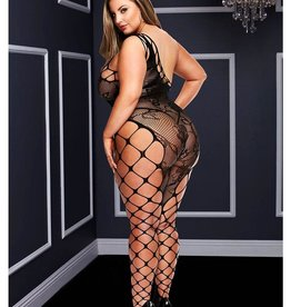 Baci OFF THE SHOUDLER BODYSTOCKING-BLACK-Q