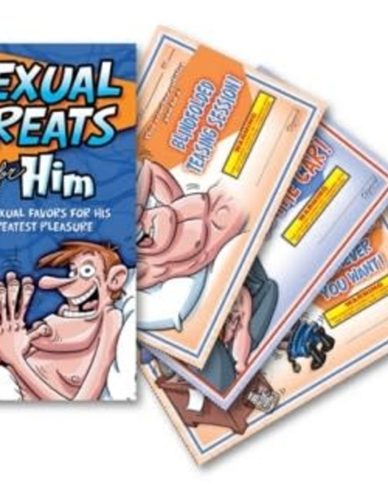 OZZE CREATIONS Sexual Treats for Him Vouchers