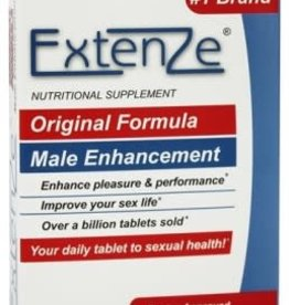 BEAMONSTAR Extenze Maximum Strength Male Sexual Enhancement - 30 Tablet Box