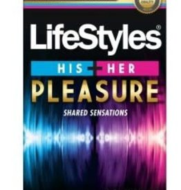 Lifestyle Condoms Lifestyle His + Her Pleasure 12 Pk