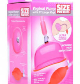 XR Brands Vaginal Pump With 5 Inch Large Cup
