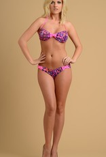 Just to Flirt 2pc Bikini with Scrunch Back and Bow Detail - OS - Assorted Colors