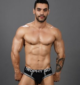 Andrew Christian Trophy Boy Score Brief - Black