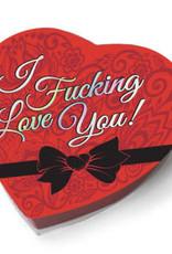Little Genie I f'n Love You - Heart Boxed Chocolates