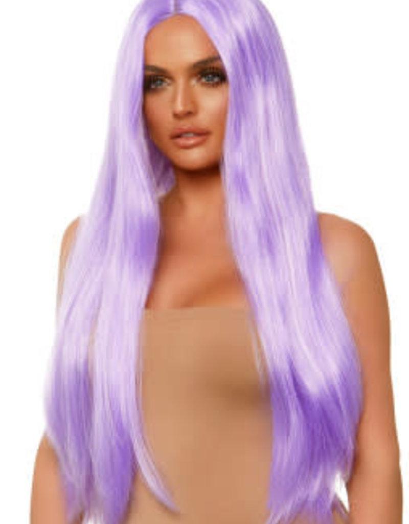 "Leg Avenue Long Straight Wig 33"" - Lavender"