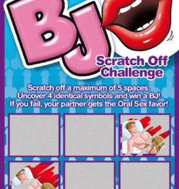 OZZE CREATIONS Bj Scratch Off Challenge