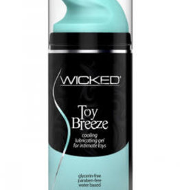 Wicked Sensual Care Wicked Toy Breeze Cooling Lubricating Gel Water Based for Intimate Toys