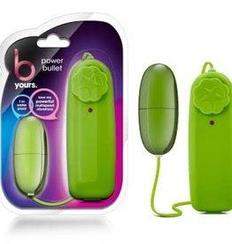 Blush Novelties B Yours Power Bullet - Lime