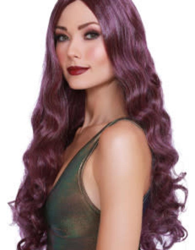 Dreamgirl Long Wavy Wig - Purple