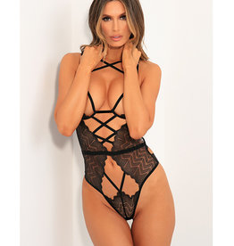 Rene Rofe Rene Rofe Exquisite Restriction Teddy Black