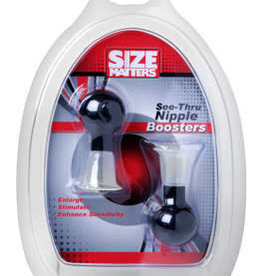 XR Brands Size Matters Size Matters See -Thru Nipple Boosters