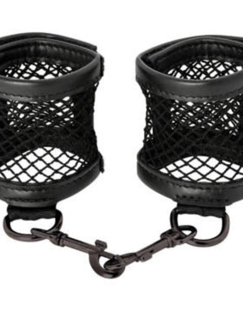 Sportsheets Sex and Mischief Fishnet Cuffs