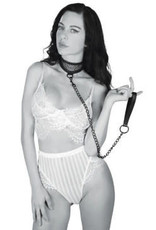 Sportsheets Sex and Mischief Fishnet Collar and Leash