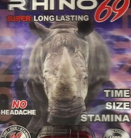 Rhino 69 Platinum Male Enhancment - 1 Count