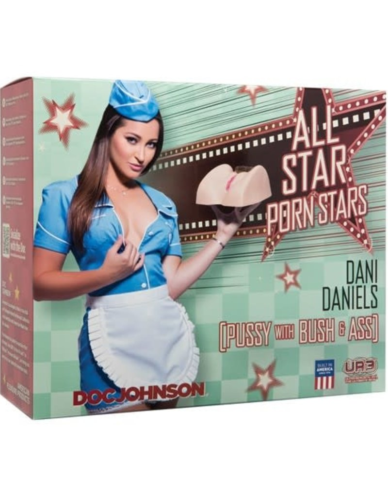 Doc Johnson All Star Porn Stars: Dani Daniels