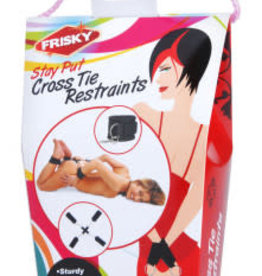 XR Brands Frisky Frisky Stay Put Cross Tie Restraints