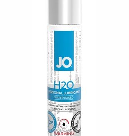 System Jo Jo H2O Water Based Warming Lube 1oz