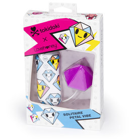 Lovehoney TOKIDOKI 7 FUNCTION SILICONE PURPLE DIAMOND CLITORAL VIBRATOR