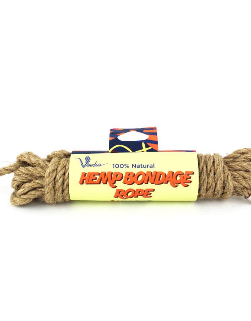 Shibari Voodoo 100% Natural Hemp Bondage Rope in 32ft/10M