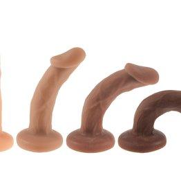 New York Toy Collective Shilo Posable Dildo Chocolate