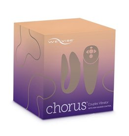 We-Vibe We-Vibe Chorus Couples Vibrator With Squeeze Control Waterproof Rechargeable Purple