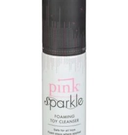 Gun Oil Pink Lubricant Pink Sparkle Foaming Toy Cleaner - 1.7 Oz.