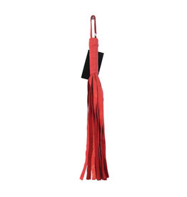 "Ruff Doggie Styles Soft Flogger 16"" - Red"