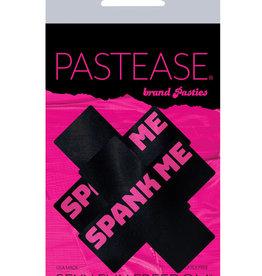 Pastease Pastease Spank Me Plus - Black/Pink O/S