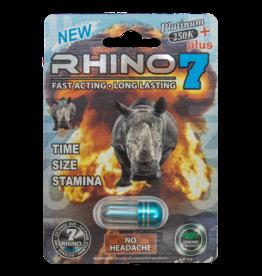 Herbal Supplements Rhino 7 250K Plus Male Supplement