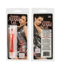 California Exotic Novelties Feminine Arousal Gel - Cherry - 0.5 Fl. Oz.