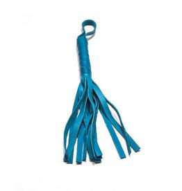 FoxTails Soft Flogger 12 - Aqua