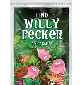 OZZE CREATIONS Find Willy Pecker Book Game