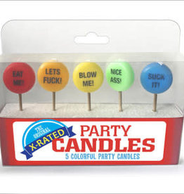 Little Genie X-Rated Party Candles
