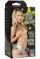 Doc Johnson All Star Porn Stars - Ultraskyn Squirting Pussy - Karla Kush