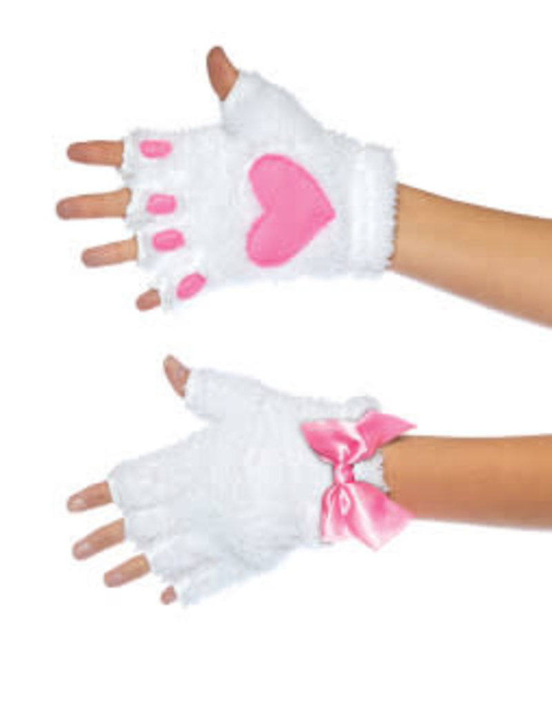 Leg Avenue Adult Cat Paw Gloves Costume Accessory