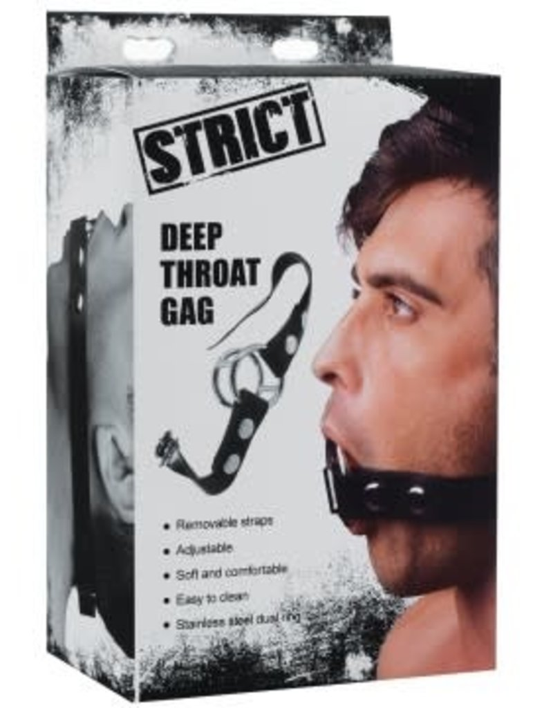 XR Brands Strict Deep Throat Gag