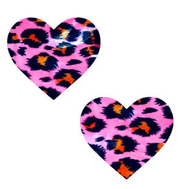 Neva Nude Pink Cheeky Cheetah Velvet Crush Blacklight I Heart U Nipztix Pasties