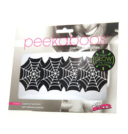 Eye Candy Peekaboos Glow in the Dark Webs - Pack of 2