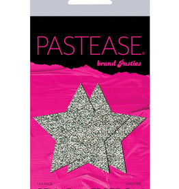Pastease Pastease Glitter Star - Silver O/S