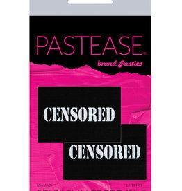 Pastease Pastease Censored Pastie - Black/White O/S