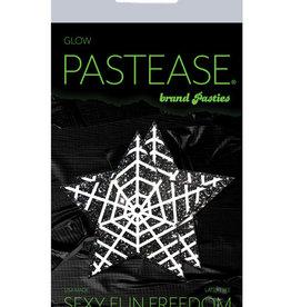 Pastease Pastease Halloween Glitter Web - Glow in the Dark Black/White O/S