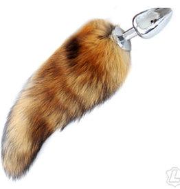 Kookie INTL Fox Tail With Steel Butt Plug - Golden