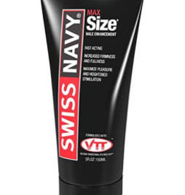 M.D. Science Lab Swiss Navy Max Size Male Enhancement Cream 5 Fl Oz