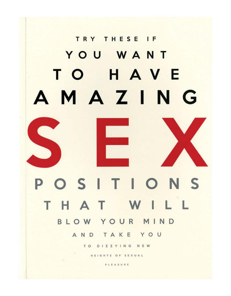 Carlton Books Amazing Sex Positions
