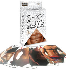 Little Genie Sexy Guys Playing Cards 54 Card Deck