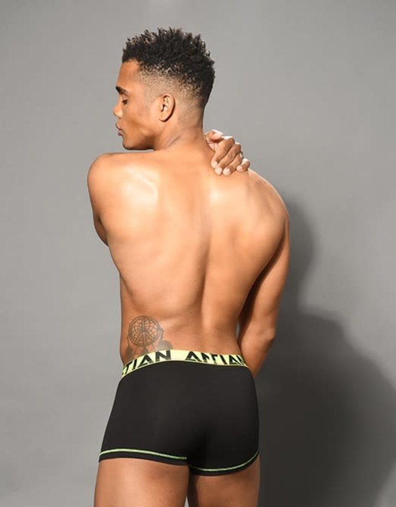 Andrew Christian Almost Naked Cotton Boxer - Black